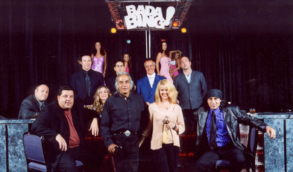 Photo of the cast from The Sopranos