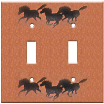 horse switchplate cover