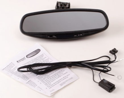 Auto Dimming Rear View Mirror with Compass