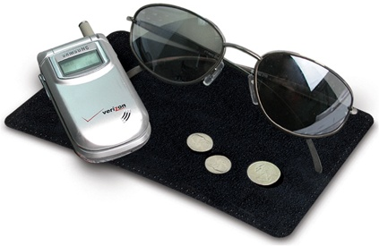 Dash Sticky Pad for Phone, Glasses or Radar Detector
