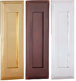 Vertical Brass Mail Slots