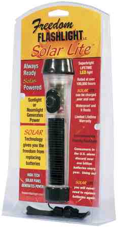 Solar Powered LED Light
