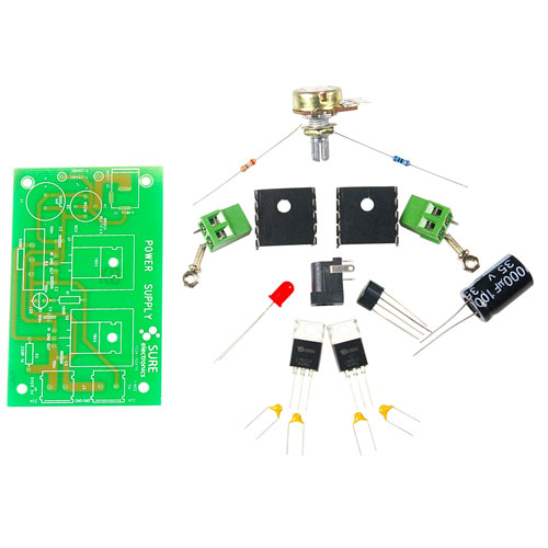 5-16 VDC Linear DC Voltage Power Supply Kit