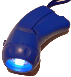 Emergency LED Flashlight With built-in dynamo Generator