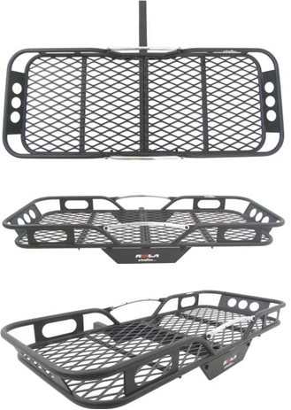 Hitch Mounted Cargo Basket Carrier