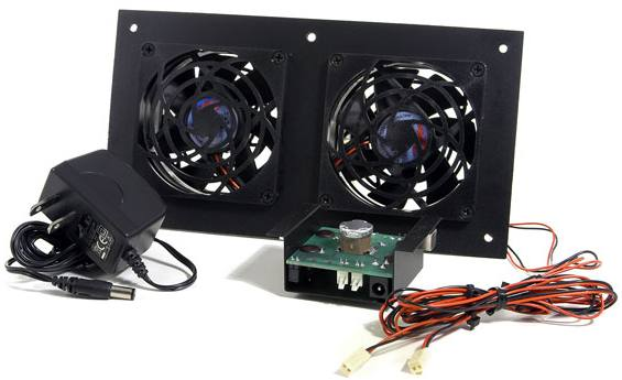 Small Equipment Cabinet Cooler Fan System