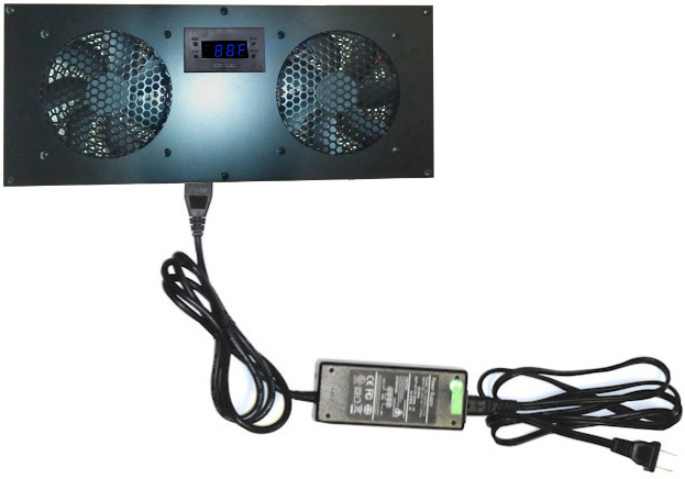Deluxe Cabinet Cooling Kit with built-in LED Controller
