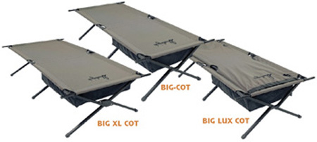 SLUMBERJACK FOLDING SLEEPING COTS