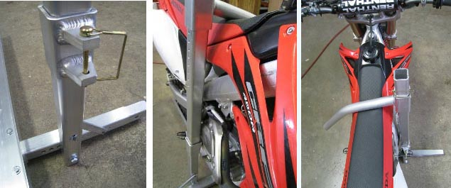Motorcycle Hitch Carrier with Ramp