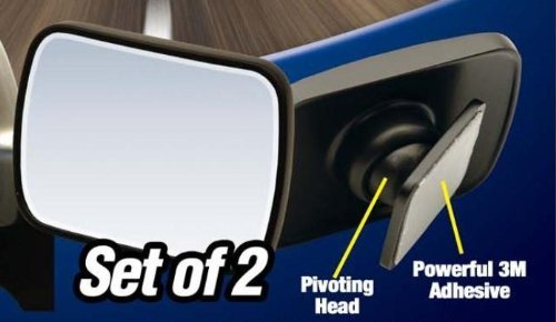 Adjustable Side View Mirror Concave Blind Spot