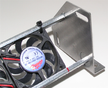 Flat Panel LCD LED TV Cooling Array Fans Stick