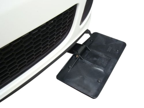 Hide-A-Way retractable license plate holder bracket