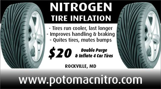 Nitrogen Tire Inflation Coupon