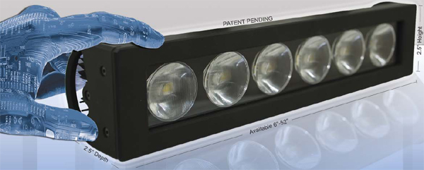 Low Current Reflex LED Smart Light Euro Beam