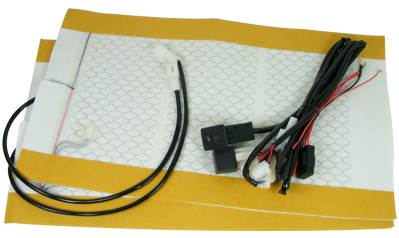 Deluxe Carbon Fiber Universal Heated Seat Kit