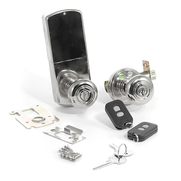 Remote Control Keyless Door Knob