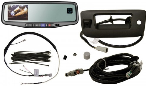 2007-2012 Silverado / Sierra Rear View Back Up Monitor & Camera Kit