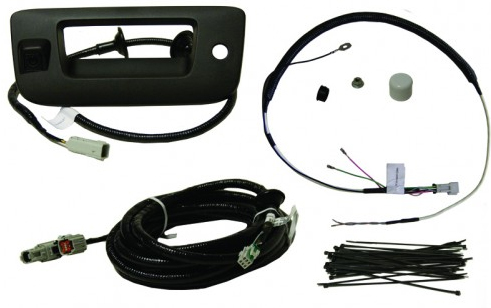 2007-2012 Silverado / Sierra Rearview Tailgate Camera Kit