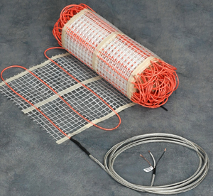 Electric Radiant Floor Tile Heating System