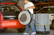 Seasonal Tire Carrying & Storage Tote