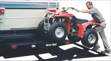 ATV and Go-cart Carrier with Ramp