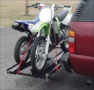 Double Motorcycle Hitch Carrier