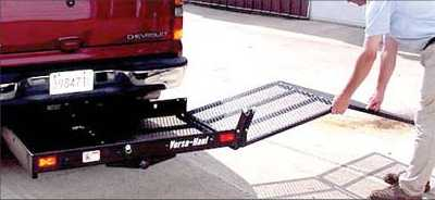 Mobility Scooter Hitch Carrier