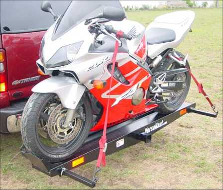 Sport Motorcycle Hitch Carrier