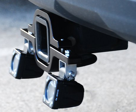 Hitch Receiver Backup Light Adapter Mount