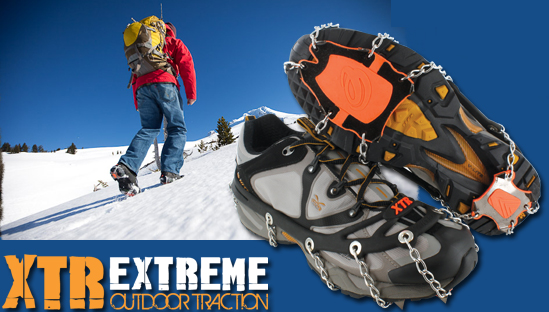 Yaktrax XTR Extreme Ice Cleat Shoe Chains