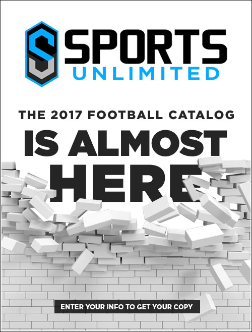 2017 Sports Unlimited Football Catalog is almost here!