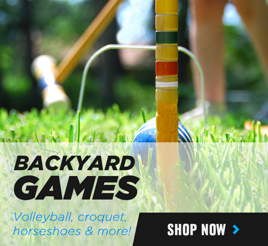 Backyard Games - Volleyball, Horseshoes and more!