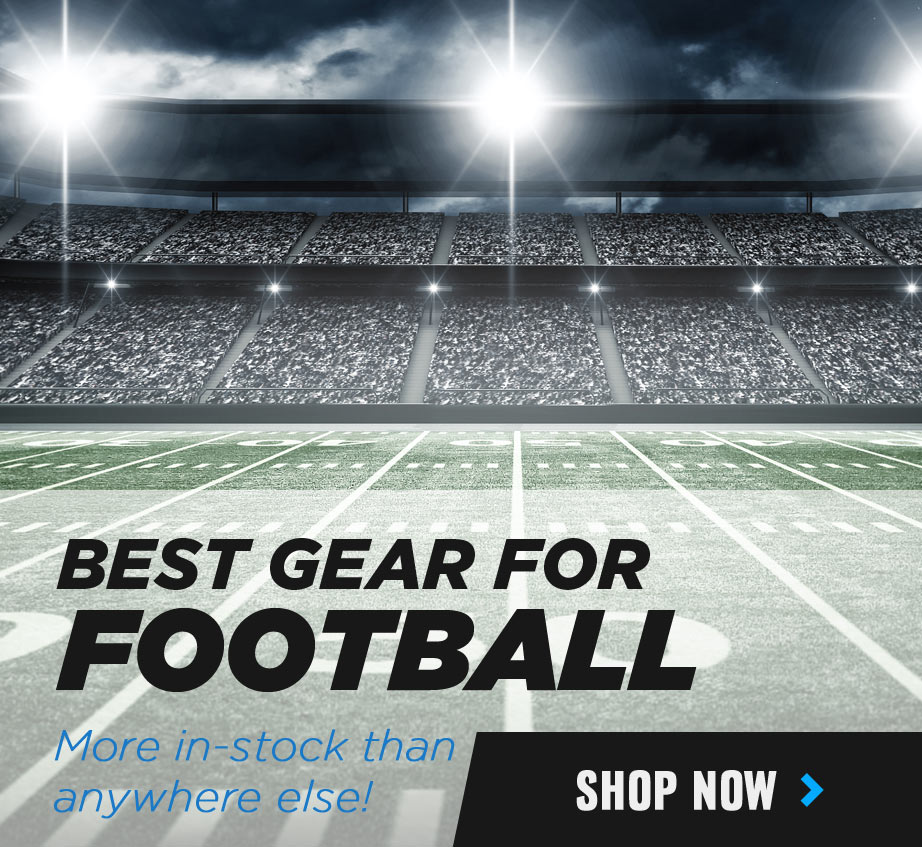 The best gear for football