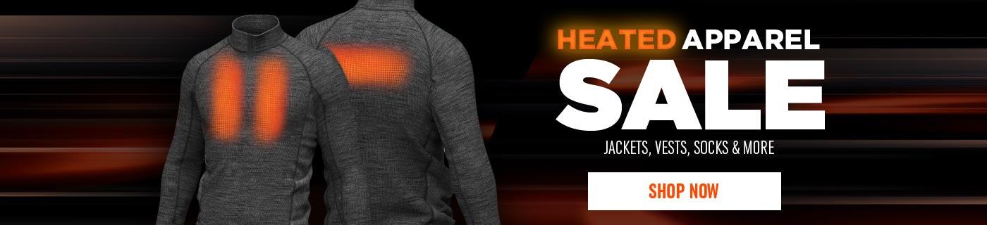 Heated Apparel Sale - Shop Now