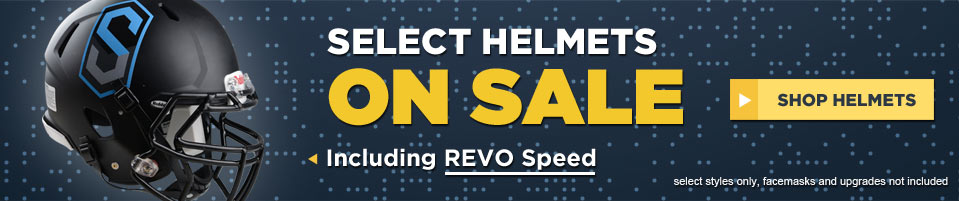 Select Football Helmets On Sale - Limited Time Only