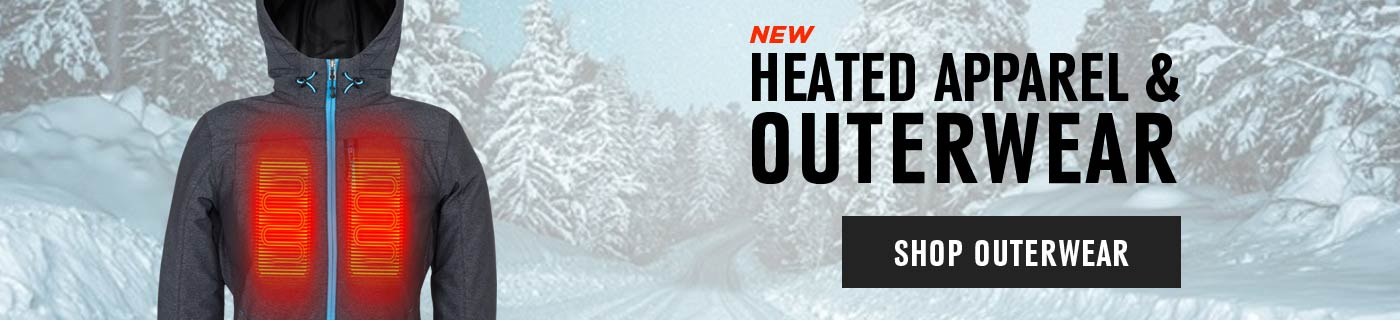New Heated Apparel and Outerwear - Shop Now