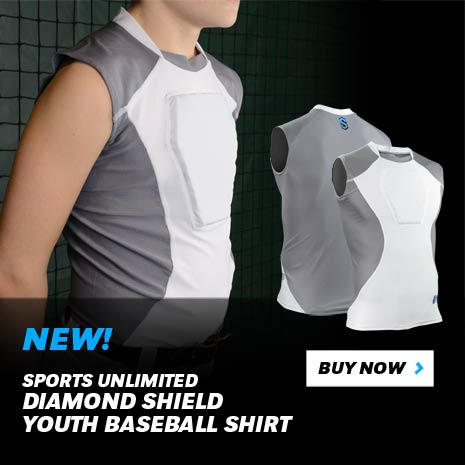 NEW! Sports Unlimited Diamond Shield Youth Baseball Shirt