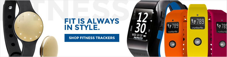 SHOP FITNESS TRACKERS