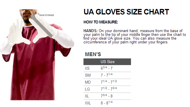 under armour size guide youth