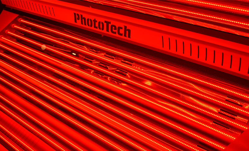 red light therapy LED system