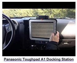 Havis Panasonic ToughPad A1 Docking Station - DS-PAN-500