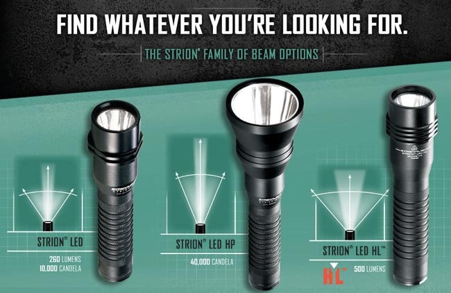 Strion Flashlight Family