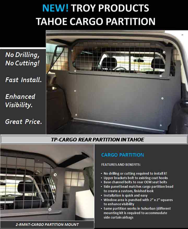 Troy Products Tahoe Product Line