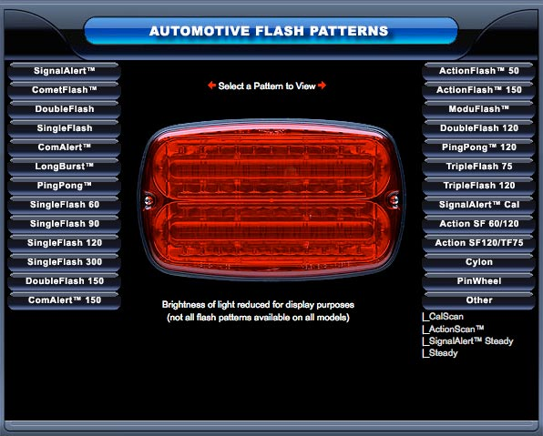 Whelen Flash Pattern Demo From Swps Com