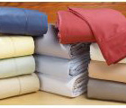 photo of European size bed sheets