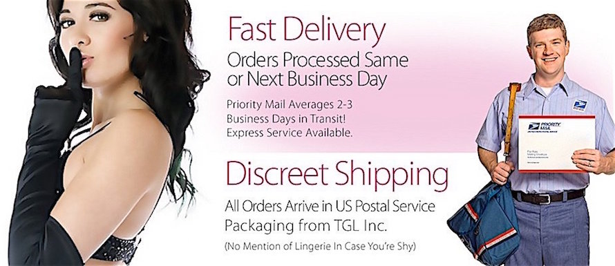 Lingerie with Discreet Shipping & Fast Delivery