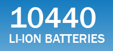 10440 lithium-ion batteries
