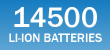 14500 lithium-ion batteries