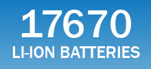 17670 lithium-ion batteries