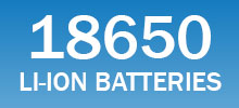 18650 lithium-ion batteries